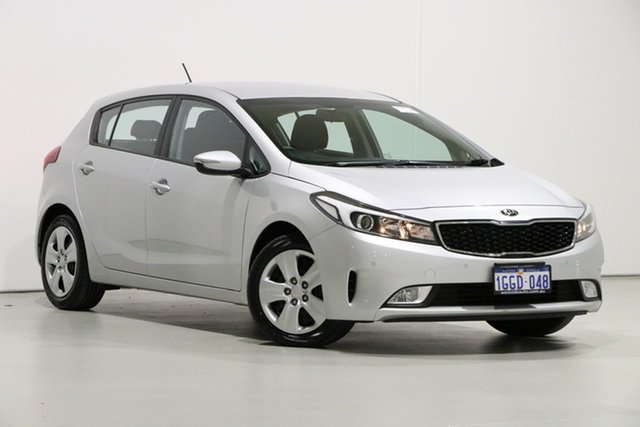 Used Kia Cerato YD MY17 S, 2017 Kia Cerato YD MY17 S Silver 6 Speed Auto Seq Sportshift Hatchback