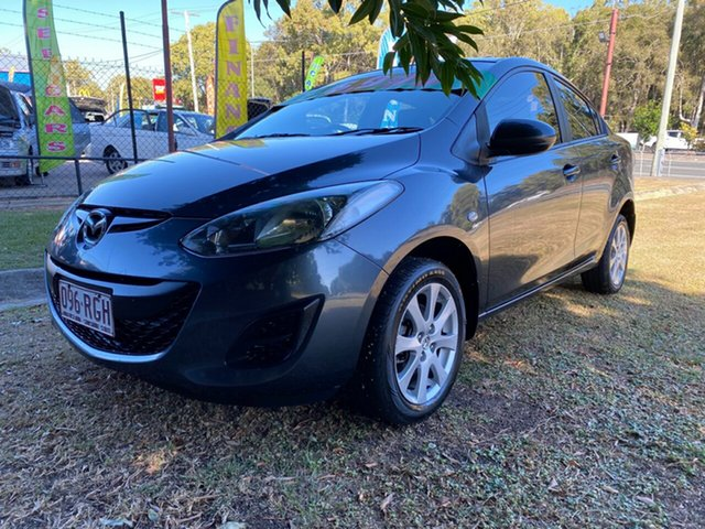 Used Mazda 2 DE10Y1 MY10 Maxx, 2010 Mazda 2 DE10Y1 MY10 Maxx Grey 5 Speed Manual Sedan