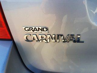 2010 Kia Grand Carnival VQ Platinum Silver 5 Speed Sports Automatic Wagon
