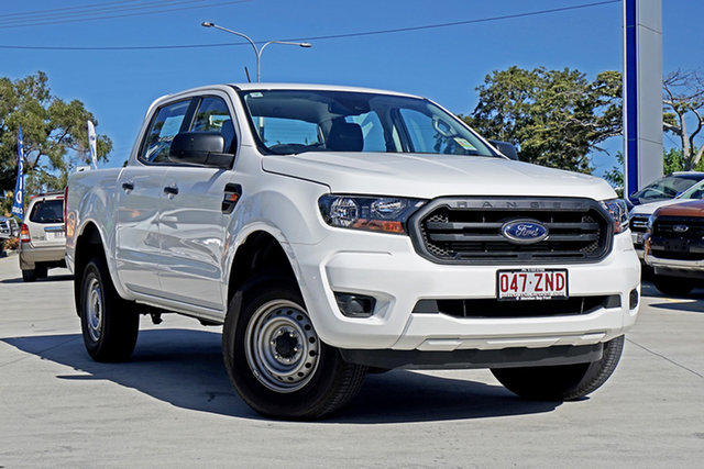 Used Ford Ranger PX MkIII 2019.75MY XL Pick-up Double Cab, 2019 Ford Ranger PX MkIII 2019.75MY XL Pick-up Double Cab Arctic White 6 Speed Sports Automatic