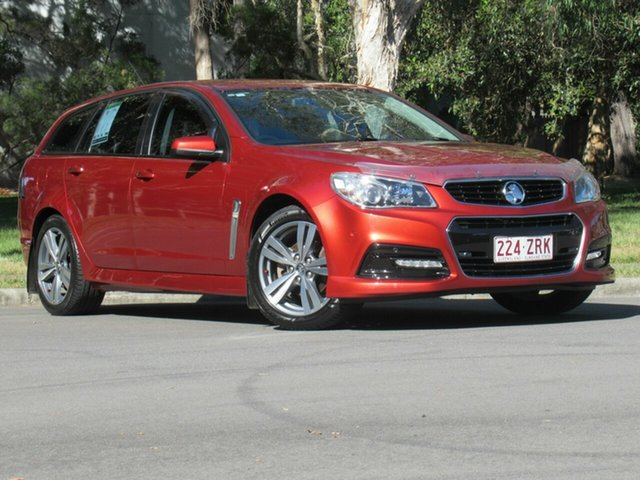 Used Holden Commodore VF MY15 SV6 Sportwagon, 2015 Holden Commodore VF MY15 SV6 Sportwagon Maroon 6 Speed Sports Automatic Wagon