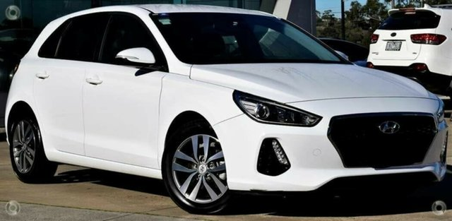 Used Hyundai i30 PD2 MY19 Active, 2019 Hyundai i30 PD2 MY19 Active White 6 Speed Sports Automatic Hatchback