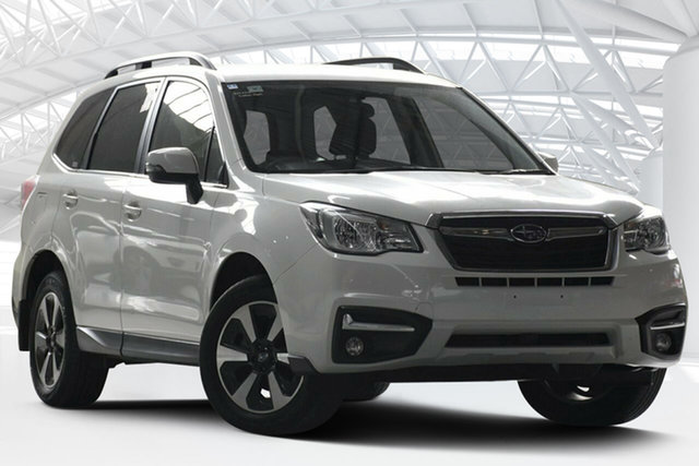 Used Subaru Forester MY18 2.5I-L, 2017 Subaru Forester MY18 2.5I-L White Continuous Variable Wagon