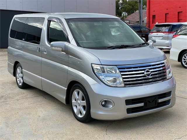 Used Nissan Elgrand E51 Highway Star, 2007 Nissan Elgrand E51 Highway Star Silver Automatic Wagon