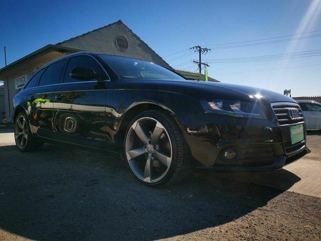 Used Audi A4 B8 (8K) MY11 1.8 TFSI Avant, 2011 Audi A4 B8 (8K) MY11 1.8 TFSI Avant Black CVT Multitronic Wagon