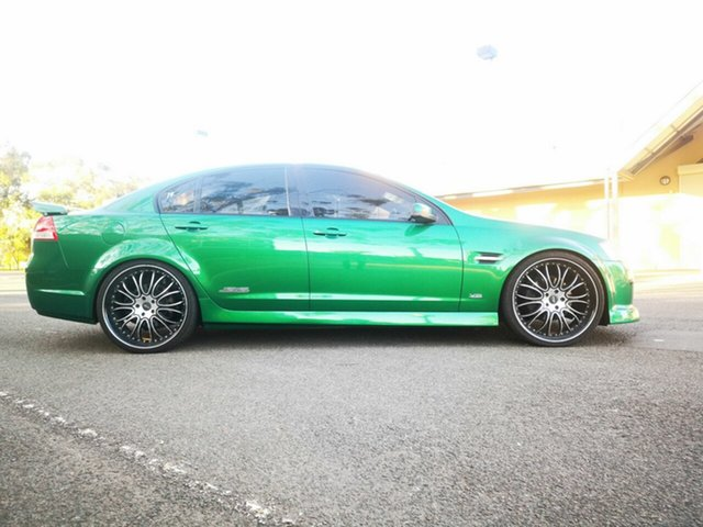 Used Holden Commodore VE MY10 SS, 2010 Holden Commodore VE MY10 SS Green 6 Speed Manual Sedan