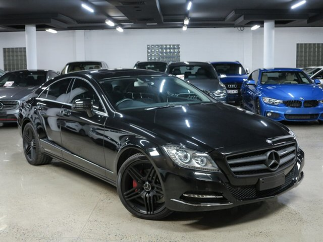 Used Mercedes-Benz CLS-Class C218 MY13.5 CLS250 CDI Coupe 7G-Tronic +, 2013 Mercedes-Benz CLS-Class C218 MY13.5 CLS250 CDI Coupe 7G-Tronic + Obsidian Black 7 Speed