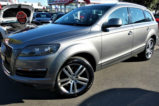 Used Audi Q7 MY12 TDI Tiptronic Quattro Seaford, 2011 Audi Q7 MY12 TDI Tiptronic Quattro Grey 8 Speed Sports Automatic Wagon