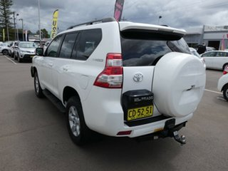 2014 Toyota Landcruiser Prado KDJ150R MY14 GXL White 5 Speed Sports Automatic Wagon