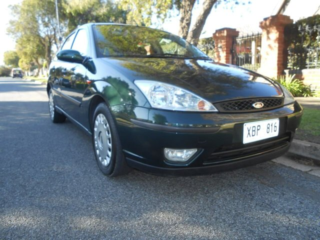 Used Ford Focus LR MY2003 CL, 2003 Ford Focus LR MY2003 CL Green 4 Speed Automatic Hatchback