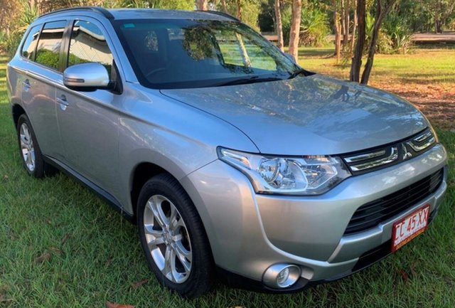 Used Mitsubishi Outlander ZJ MY14.5 LS 4WD, 2014 Mitsubishi Outlander ZJ MY14.5 LS 4WD Silver 6 Speed Constant Variable Wagon