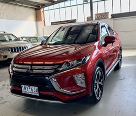 2018 Mitsubishi Eclipse Cross YA MY19 LS 2WD Red 8 Speed Constant Variable Wagon.
