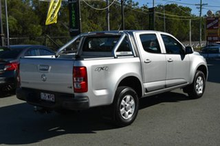 2016 Holden Colorado RG MY16 LS-X (4x4) Silver 6 Speed Automatic Crew Cab Pickup