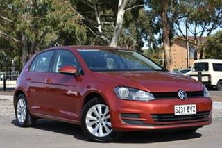 2015 Volkswagen Golf VII MY15 90TSI DSG Comfortline Burgundy 7 Speed Sports Automatic Dual Clutch.
