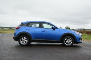 2019 Mazda CX-3 DK MY19 Maxx Sport (FWD) Dynamic Blue 6 Speed Automatic Wagon.