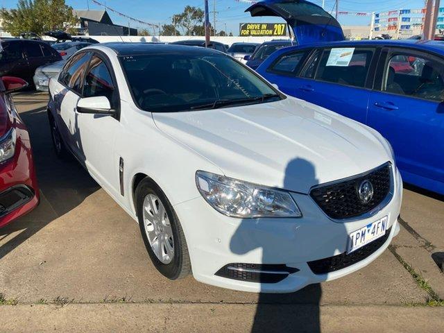 Used Holden Commodore VF MY14 Evoke, 2013 Holden Commodore VF MY14 Evoke White 6 Speed Sports Automatic Sedan