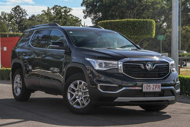 Used Holden Acadia AC MY19 LT 2WD, 2019 Holden Acadia AC MY19 LT 2WD Mineral Black 9 Speed Sports Automatic Wagon