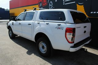 2014 Ford Ranger PX XL Double Cab Cool White 6 Speed Sports Automatic Utility