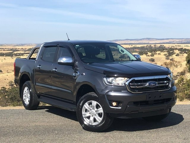 Used Ford Ranger PX MkIII 2019.00MY XLT Pick-up Double Cab, 2018 Ford Ranger PX MkIII 2019.00MY XLT Pick-up Double Cab Grey 10 Speed Sports Automatic Utility