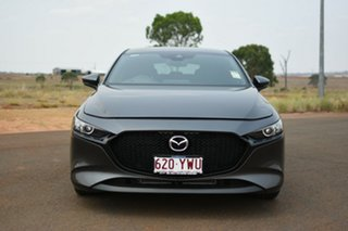 2019 Mazda 3 BP G20 Pure Grey 6 Speed Automatic Hatchback