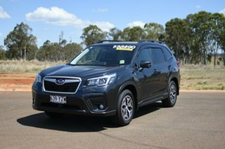 2019 Subaru Forester MY19 2.5I-L (AWD) Dark Grey Continuous Variable Wagon.