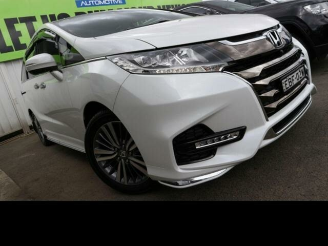 Used Honda Odyssey RC MY18 VTi-L, 2018 Honda Odyssey RC MY18 VTi-L White Continuous Variable Wagon