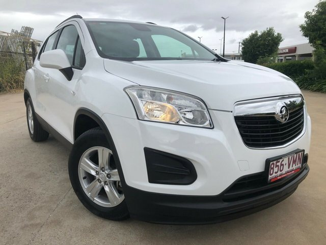 Used Holden Trax TJ MY15 LS, 2014 Holden Trax TJ MY15 LS White 6 Speed Automatic Wagon