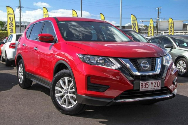 Used Nissan X-Trail T32 Series II ST X-tronic 2WD, 2019 Nissan X-Trail T32 Series II ST X-tronic 2WD Ruby Red 7 Speed Constant Variable Wagon