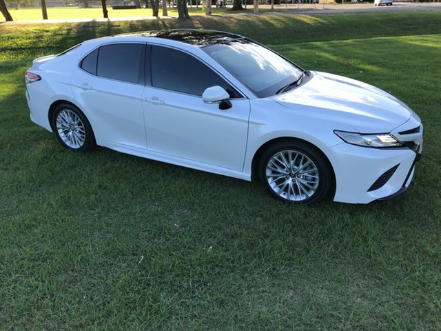 Used Toyota Camry ASV70R SL, 2018 Toyota Camry ASV70R SL Frosted White 6 Speed Sports Automatic Sedan