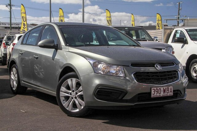 Used Holden Cruze JH Series II MY14 Equipe, 2014 Holden Cruze JH Series II MY14 Equipe Grey 6 Speed Sports Automatic Hatchback