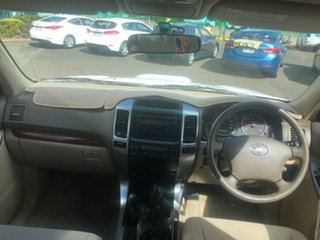 2004 Toyota Landcruiser Prado KZJ120R VX Crystal Pearl 4 Speed Automatic Wagon