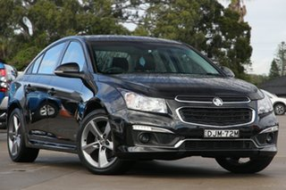 2016 Holden Cruze JH MY16 SRI Z-Series Black 6 Speed Automatic Sedan.