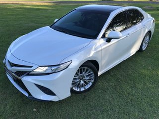 2018 Toyota Camry ASV70R SL Frosted White 6 Speed Sports Automatic Sedan