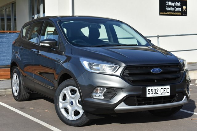 Used Ford Escape ZG Ambiente 2WD, 2017 Ford Escape ZG Ambiente 2WD Grey 6 Speed Sports Automatic Wagon