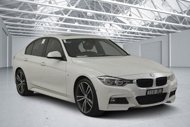 Used BMW 320d F30 LCI Sport Line, 2016 BMW 320d F30 LCI Sport Line Alpine White 8 Speed Automatic Sedan