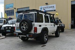 2010 Toyota Landcruiser VDJ76R 09 Upgrade Workmate (4x4) White 5 Speed Manual Wagon