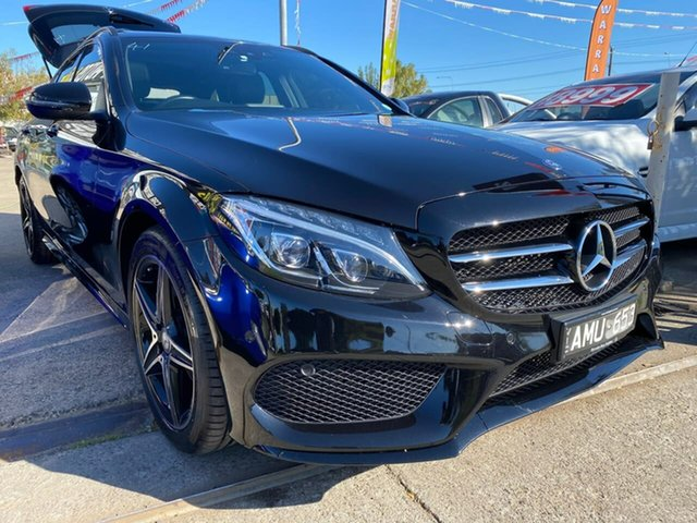 Used Mercedes-Benz C-Class S205 807MY C200 Estate 7G-Tronic +, 2016 Mercedes-Benz C-Class S205 807MY C200 Estate 7G-Tronic + Black 7 Speed Sports Automatic Wagon