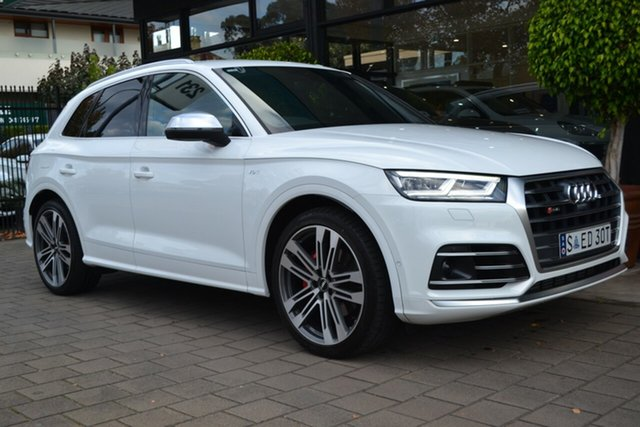 Used Audi SQ5 FY MY18 Tiptronic Quattro, 2017 Audi SQ5 FY MY18 Tiptronic Quattro White 8 Speed Sports Automatic Wagon