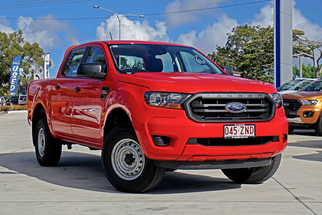 Used Ford Ranger PX MkIII 2019.75MY XL Pick-up Double Cab, 2019 Ford Ranger PX MkIII 2019.75MY XL Pick-up Double Cab True Red 6 Speed Sports Automatic Utility