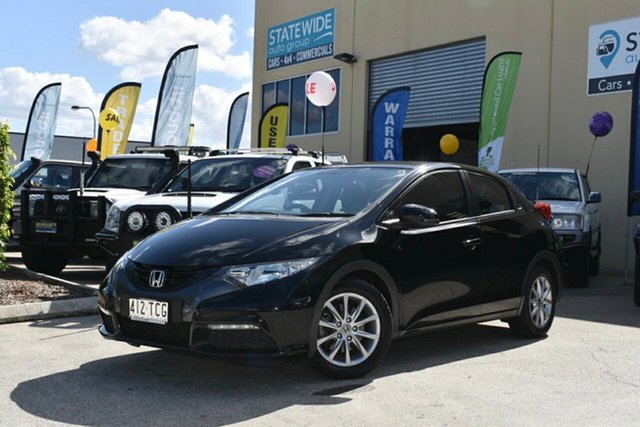 Used Honda Civic FK VTi-S, 2012 Honda Civic FK VTi-S Black 5 Speed Automatic Hatchback