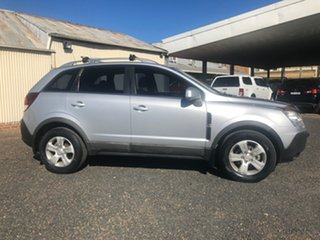 2010 Holden Captiva CG MY10 5 (4x4) Nitrate Silver 5 Speed Automatic Wagon.