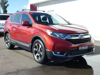 2018 Honda CR-V RW MY18 VTi-S 4WD Red 1 Speed Constant Variable Wagon.