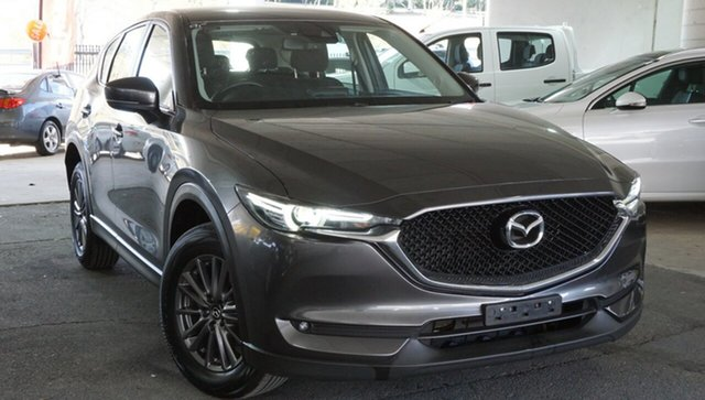 Used Mazda CX-5 KF4WLA Maxx SKYACTIV-Drive i-ACTIV AWD, 2018 Mazda CX-5 KF4WLA Maxx SKYACTIV-Drive i-ACTIV AWD Grey 6 Speed Sports Automatic Wagon