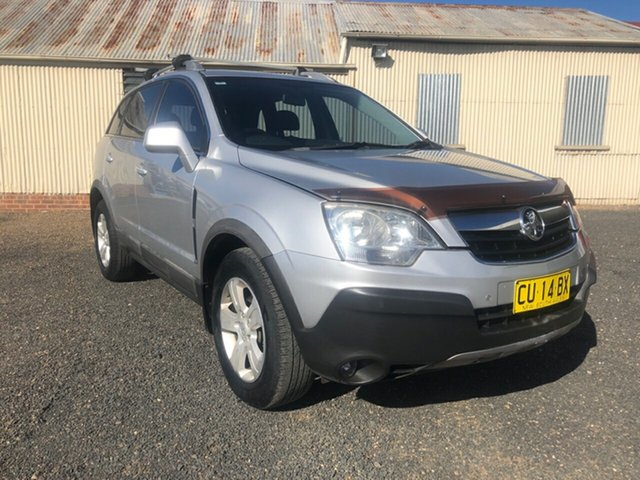 Used Holden Captiva CG MY10 5 (4x4), 2010 Holden Captiva CG MY10 5 (4x4) Nitrate Silver 5 Speed Automatic Wagon