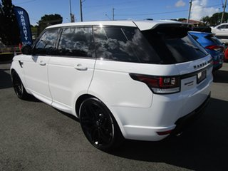 2016 Land Rover Range Rover Sport L494 16.5MY SDV6 HSE Dynamic White 8 Speed Sports Automatic Wagon.