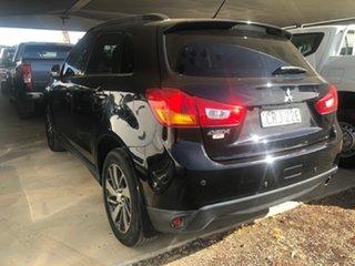 2014 Mitsubishi ASX XB MY15 LS (2WD) Black 5 Speed Manual Wagon.
