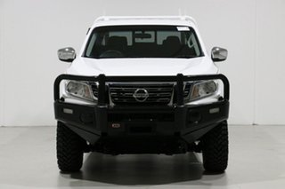 2015 Nissan Navara NP300 D23 RX (4x2) White 6 Speed Manual King Cab Chassis.