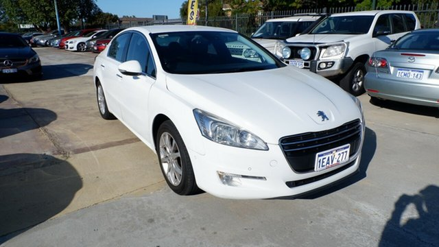 Used Peugeot 508  Active, 2012 Peugeot 508 Active White 6 Speed Sports Automatic Sedan