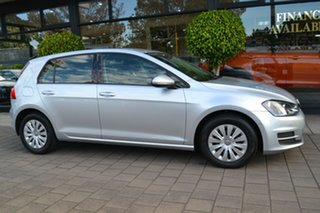 2014 Volkswagen Golf VII MY14 90TSI DSG Silver Metallic 7 Speed Sports Automatic Dual Clutch