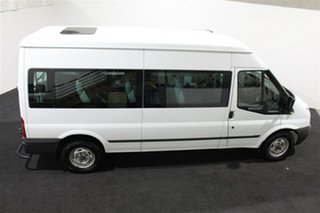 2013 Ford Transit VM MY13 Mid Roof White 6 Speed Manual Bus.